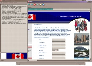 Immigration Forms and Assessment Software