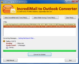 IncrediMail to EML Converter