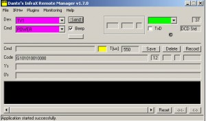 Infrared Remote Manager