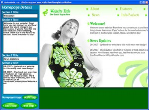 Instant Web Page Generator