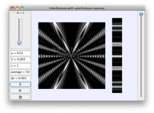 Interference with Synchronous Sources Model