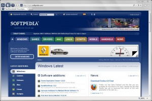 Internet Explorer 9 Softpedia Edition
