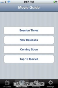 iPhone Movies Guide