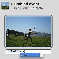 iPhoto Tag