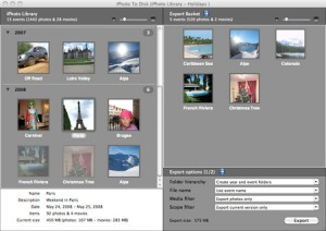 iPhoto To Disk