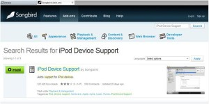 iPod Device Support