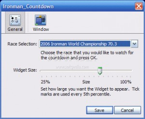 Ironman Countdown