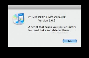 iTunes Dead Links Cleaner