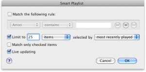 iTunes Play Count