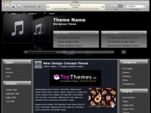 iTunes to HTML