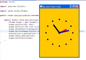 Java Analog Clock