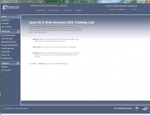 Java EE 6 Web Services OCE Training Lab Personal Edition