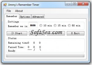 Jimmy's Remember Timer