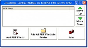 put multiple pdf files into one