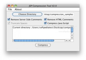 JSP Compression Tool