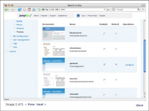 JumpBox for the Drupal Content Management System