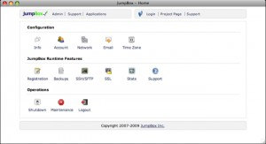 JumpBox for the Redmine Project Management and Issue Tracking System