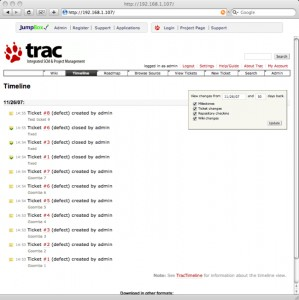 JumpBox for Trac/Subversion Software Project Management