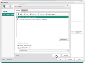 Kaspersky 2012 Database Updater