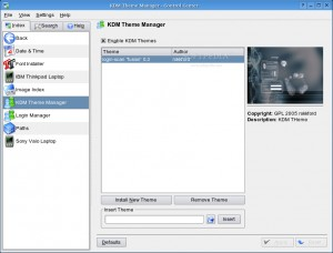 KDM Theme Manager