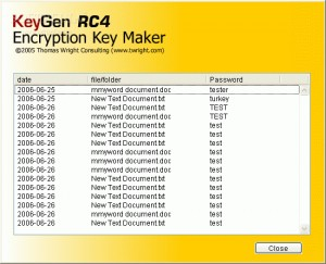 KeyGen RC4 Encryption Key Maker