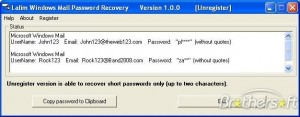 Lalim Windows Mail Password Recovery