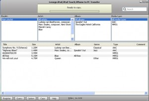 Lenogo iPod/iPod Touch/iPhone to PC Transfer