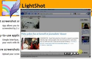 LightShot for Internet Explorer