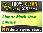 Linear Math Java Library