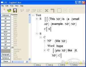 Linguistic Tree Constructor
