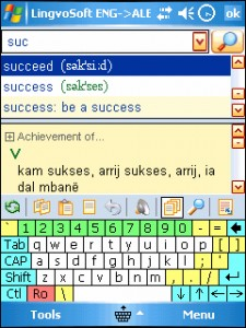 LingvoSoft Dictionary 2008 English - Albanian