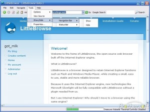 LittleBrowse