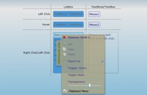 Menu and Context Menu for Silverlight 4.0