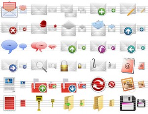 Message Toolbar Icons