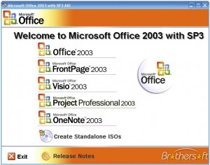 Microsoft Office 2003 Service Pack