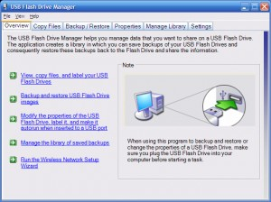 Microsoft USB Flash Drive Manager for XP