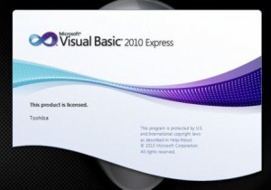 Microsoft Visual Studio 2010 Express Edition