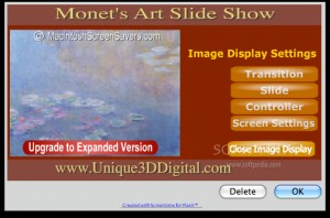Monet's Art Slide Show