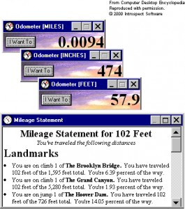 Mouse Odometer