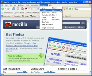 Mozilla Accessibility Extension