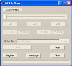 MP3 To Wave