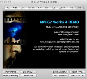 MPEG2 Works Advanced