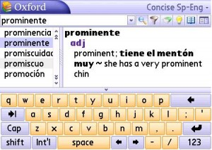 MSDict Concise Oxford Spanish Dictionary