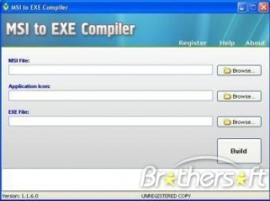 MSI to EXE Compiler