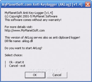 MyPlanetSoft Anti-Keylogger
