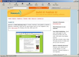 Namu6 Website Editor