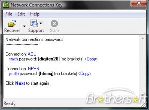 Network Connections Key