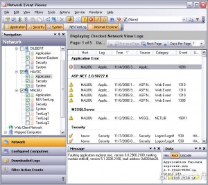 Network Event Viewer