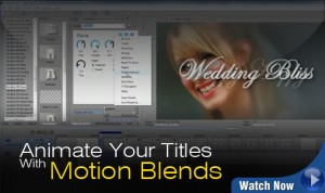 NewBlue Motion Blends