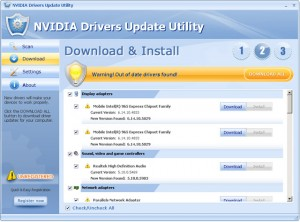 NVIDIA Drivers Update Utility